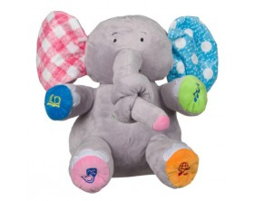 Elefantul Trompica LMi, mic si super dulcic, vorbeste si se misca, 30 cm, +3 ani
